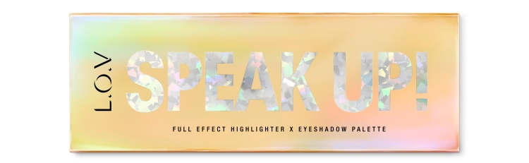 4059729050892_L_O_V SPEAK UP! full effect highlighter X eyeshadow palette_P1_ws_300dpi